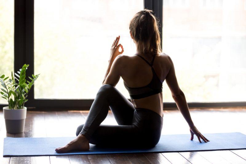 Ardha Matsyendrasana – Half Spinal Twist Pose