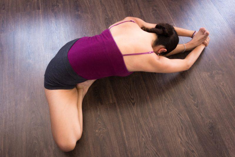 Janu Sirsasana — Head-to-Knee Forward Bend Pose