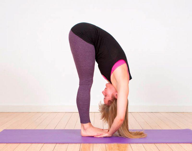 Pada Hasthasana – Standing Forward Bend Pose