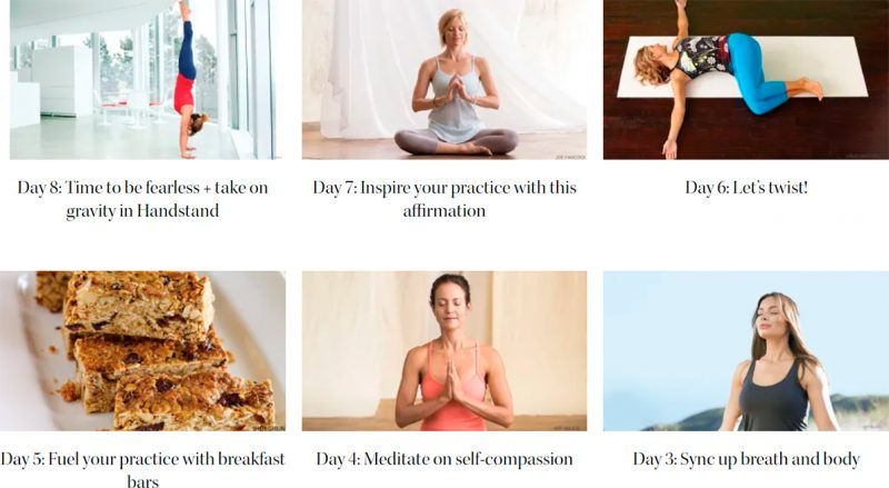 Yoga Journal - Free 21-day Step into Yoga online challenge