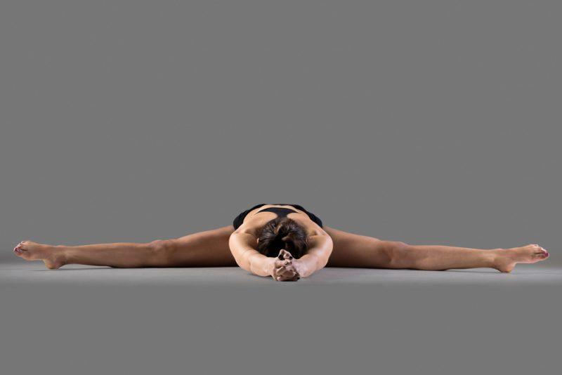 Upavistha Konasana —Wide-Angle Seated Forward Bend Pose