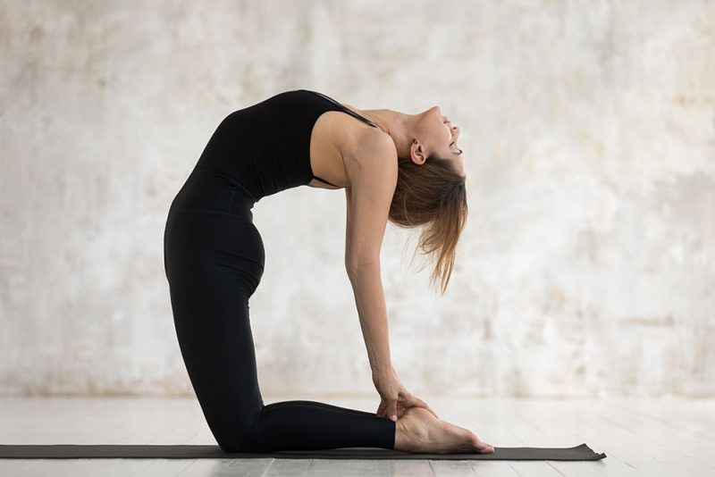 Variations of  Pigeon Pose