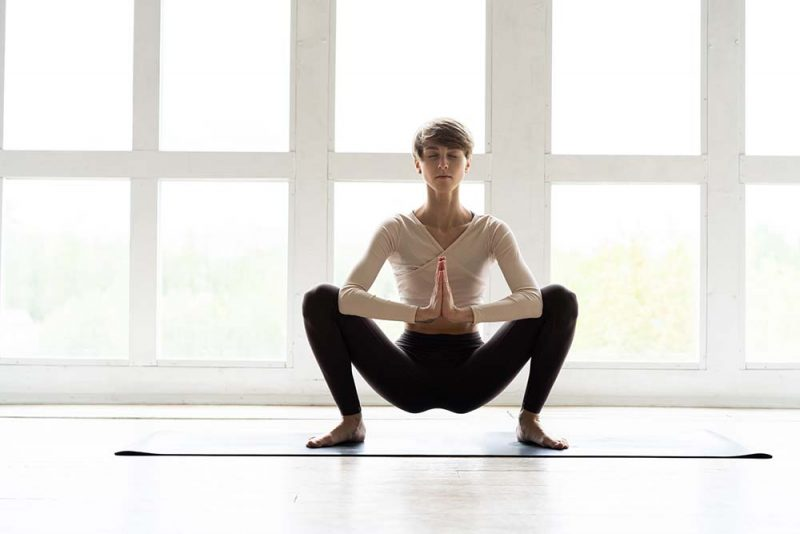 Malasana aka Full Yogic Squat