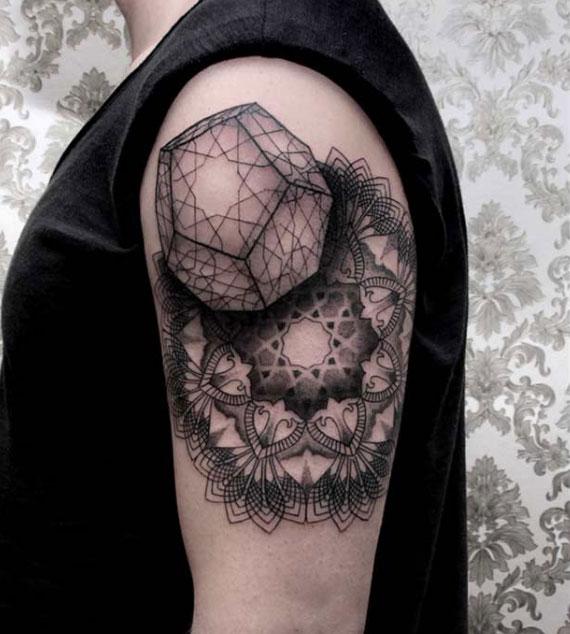 Sacred Geometry (Metatron's CubeThe Flower of Life)