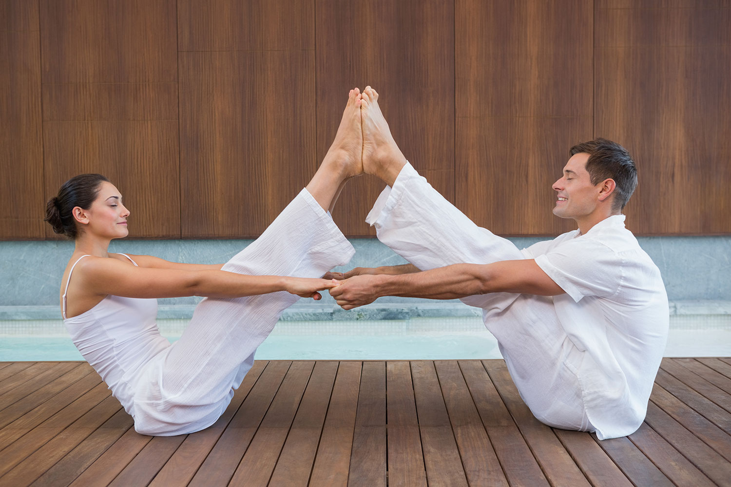 10 Beginner Partner Yoga Poses Any Couple Can Do to Build Intimacy