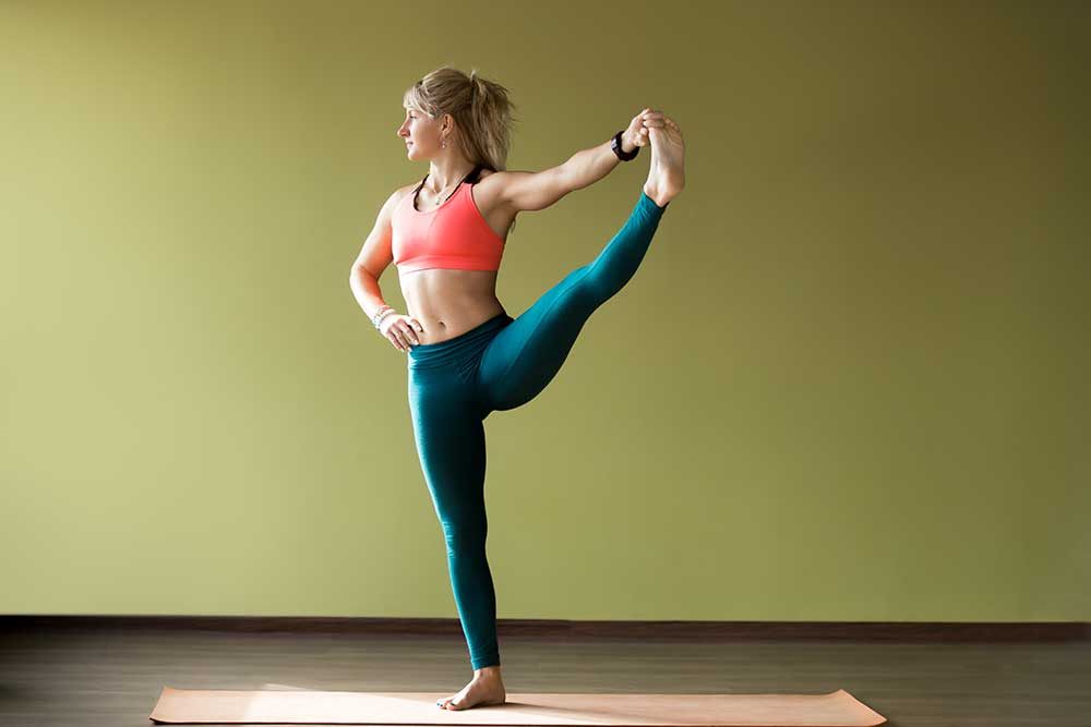 Extended Hand to Big Toe Posture