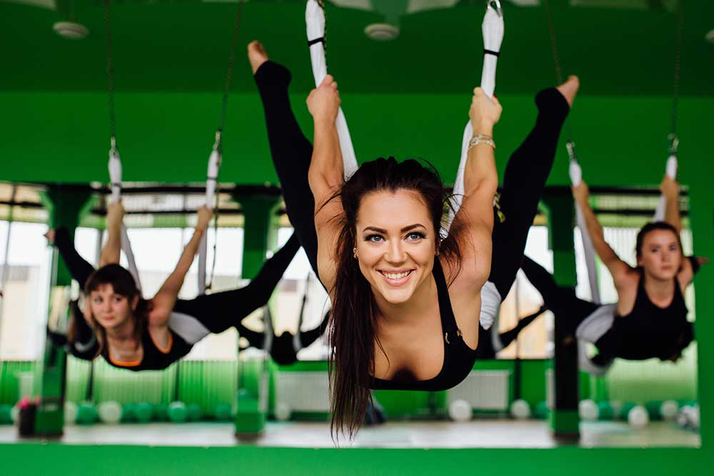 Inversions and Aerial Yoga