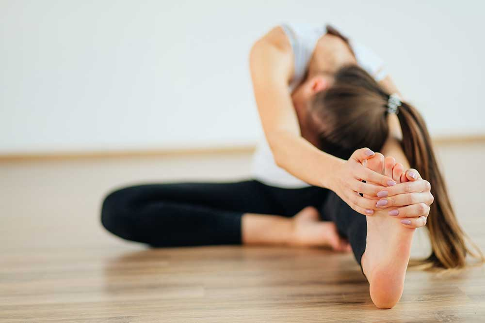 Janu Sirsasana - Head to Knee Forward Bend Pose
