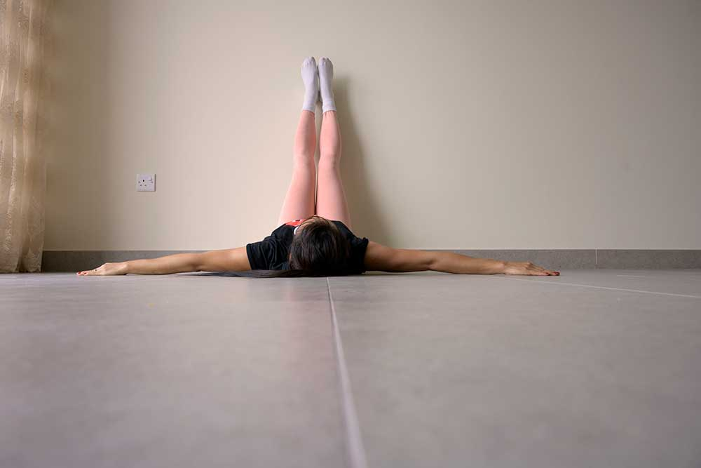 Viparita Karani - Legs up the Wall Pose