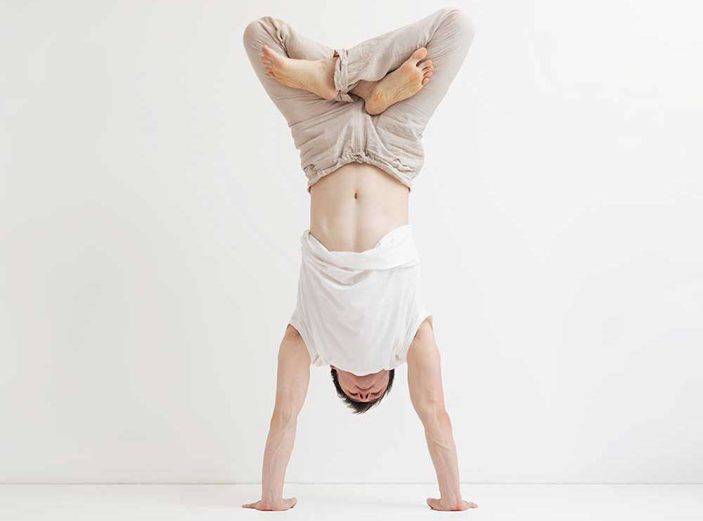 Padmasana — Handstand Lotus Pose