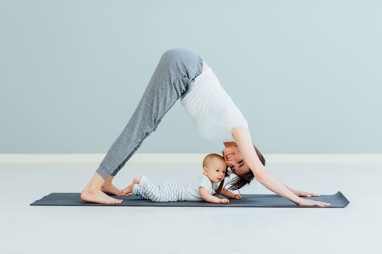 Postpartum Yoga Routine