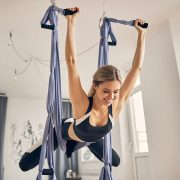What is a Yoga Swing Benefits and 12 Poses to Try