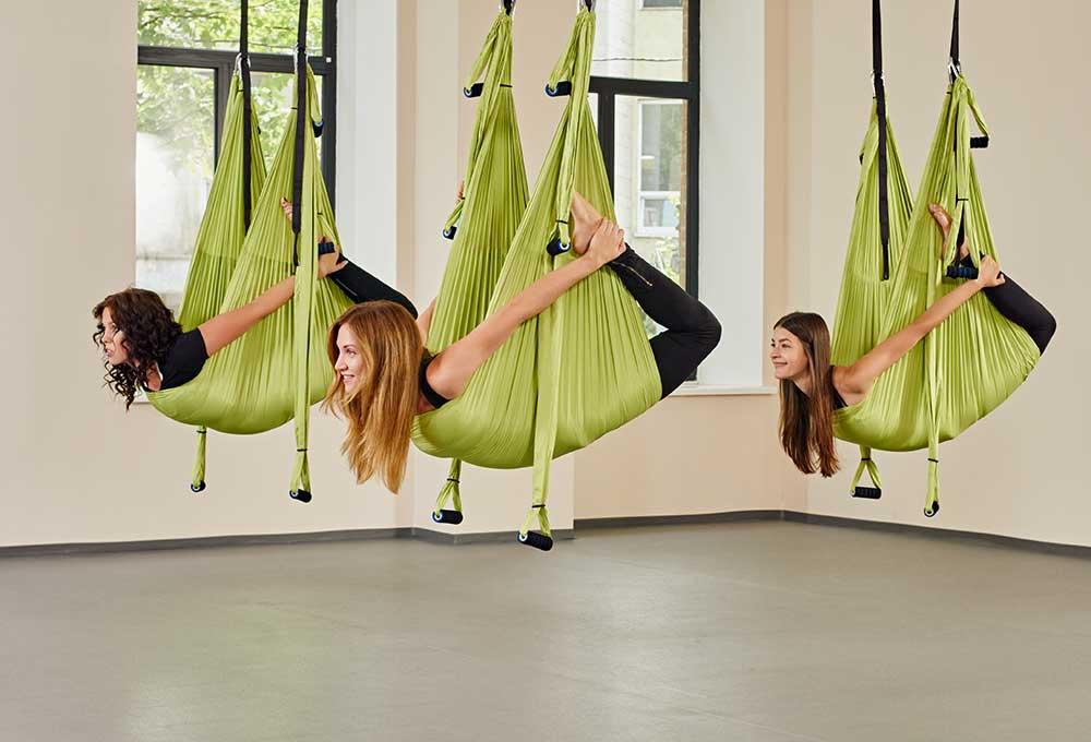 Yoga Swing History