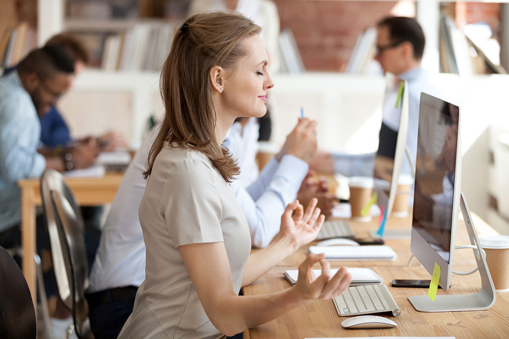 Yoga in the workplace promotes higher productivity levels