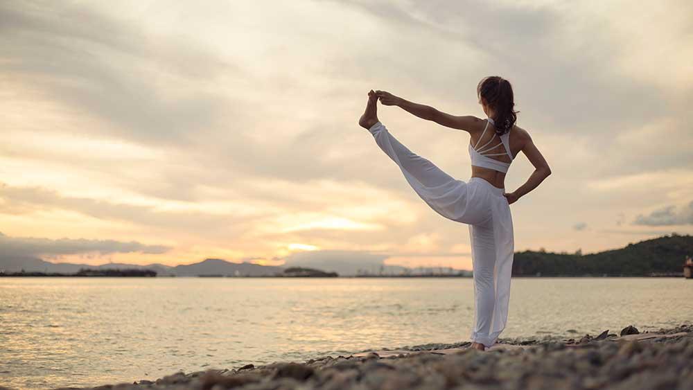Utthita Hasta Padangusthanasana — Standing Hand to Big Toe Pose