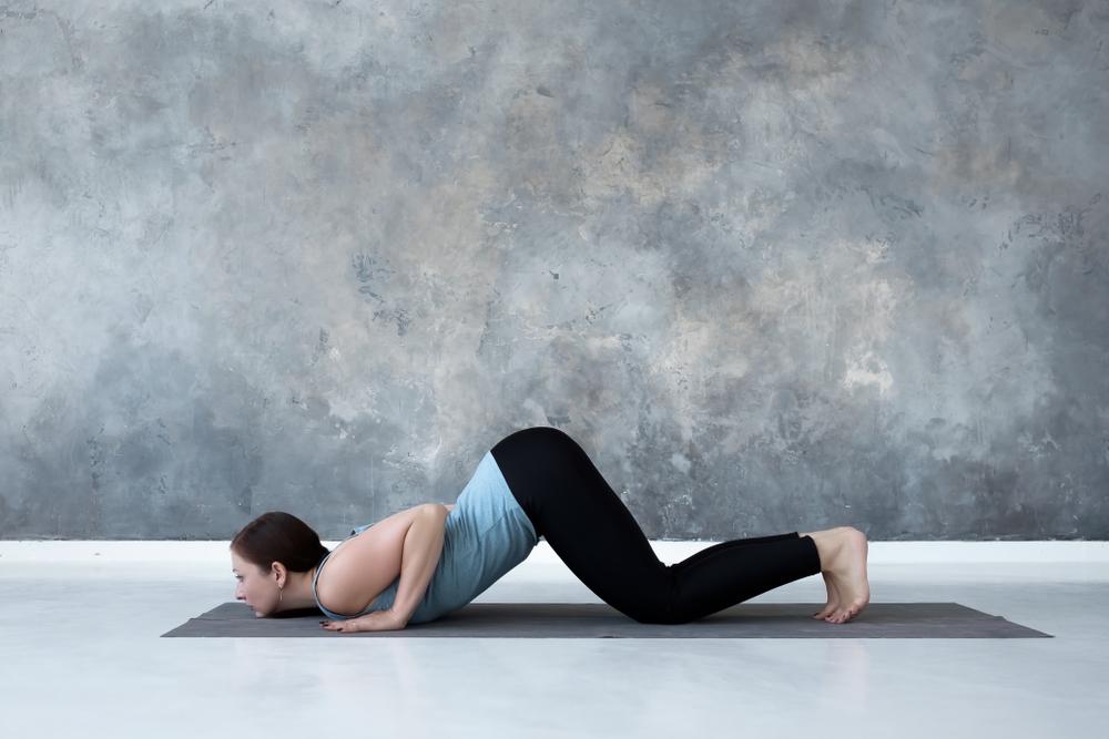 Ashtanga Namaskara - Knee-Chest-Chin Pose