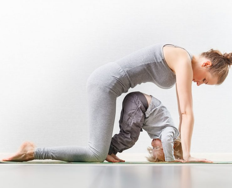 Baby Yoga Benefits and 12 Poses for New Parents to Try