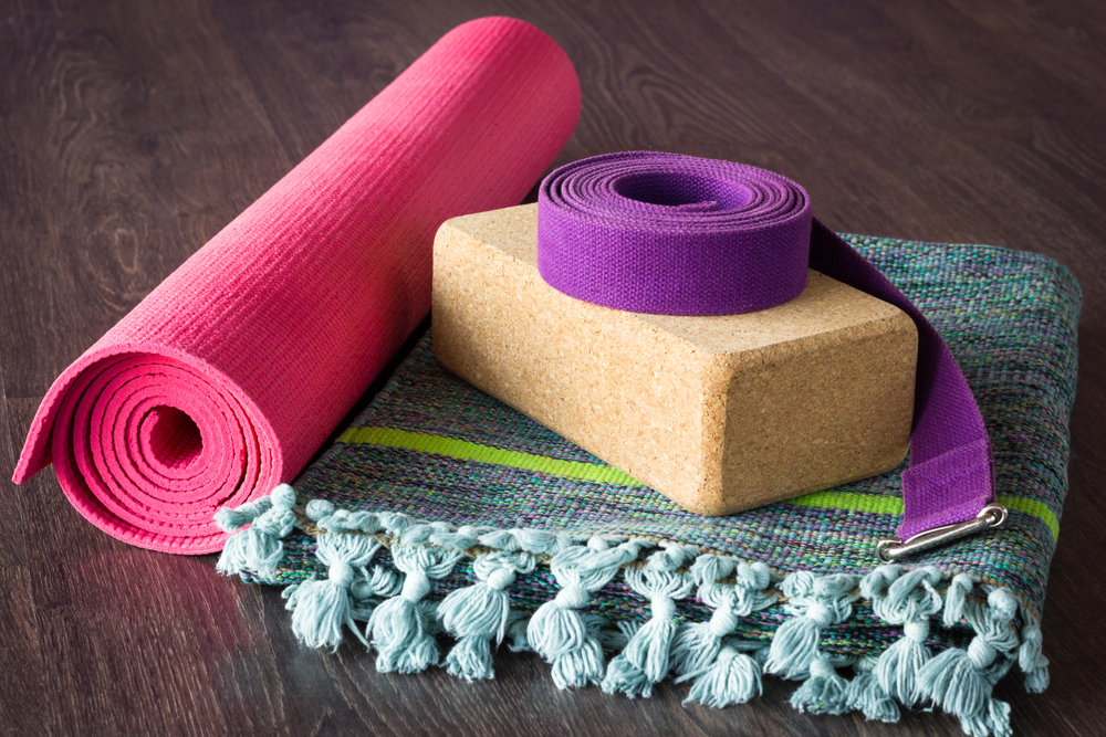 Props Used in Yin Yoga