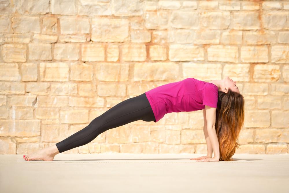 Purvottasana - Upward Plank Pose