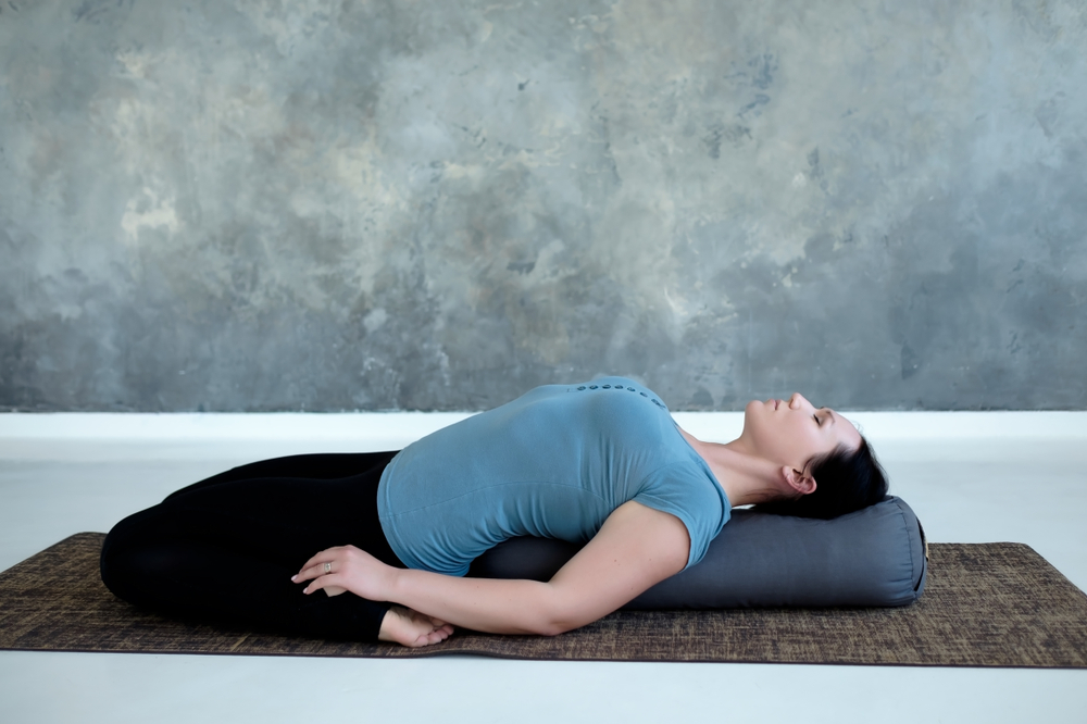 Supta Virasana — Saddle Pose