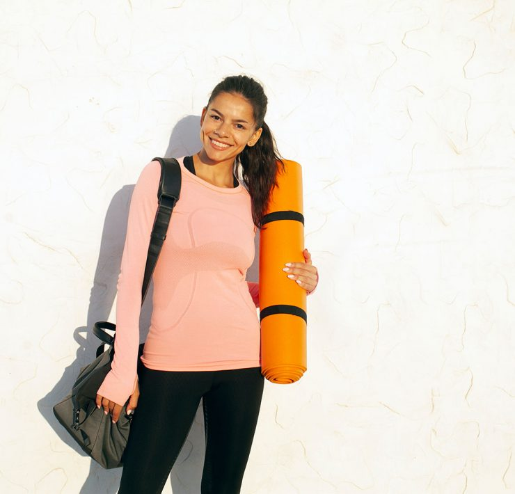 How to Use a Yoga Mat Strap for Easy Travel to and From Studio