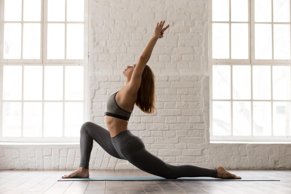 Posture to stretch your hip flexors