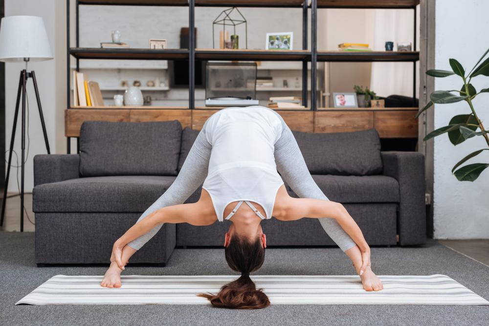 Prasarita Padottanasana — Standing Wide-Legged Forward Fold Pose