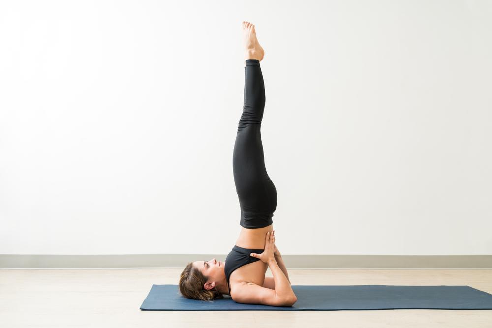 Sarvangasana - Shoulder Stand Pose