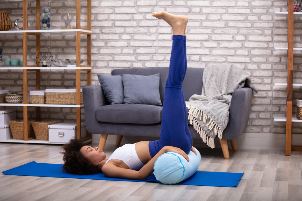 The Invention of The Yoga Pillow or Yoga Bolster