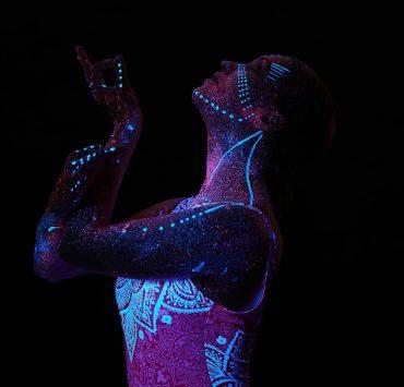 Yoga Flocke Finding Empowerment in Body Art