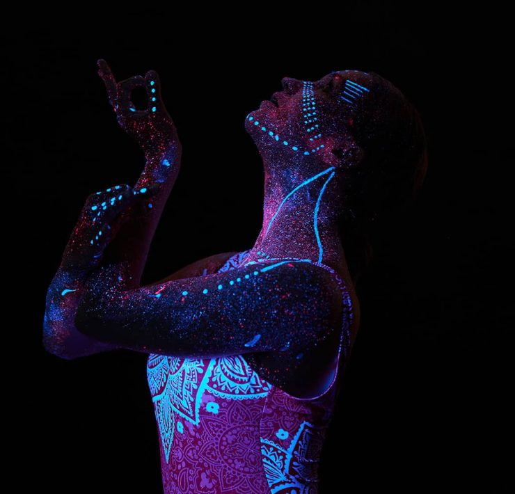 Yoga Flocke Finding Empowerment in Body Art
