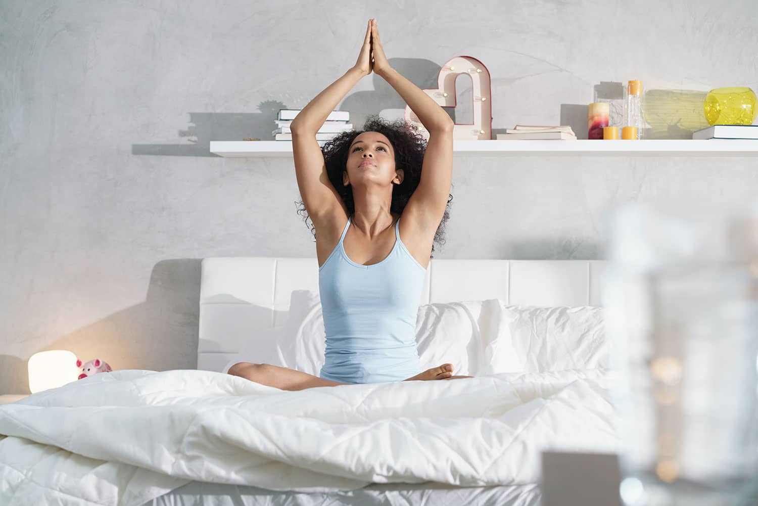Yoga in Bed 10 Best Poses for a Restful Night of Sleep