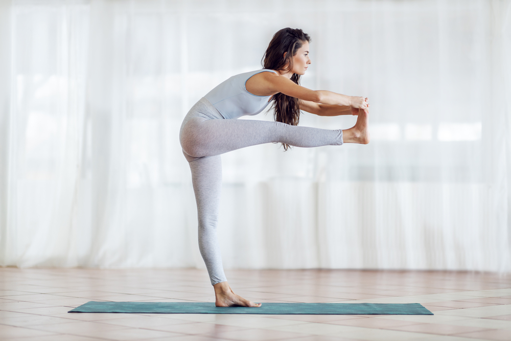 Dandayamana-Janushirasana - Standing Head to Knee Pose