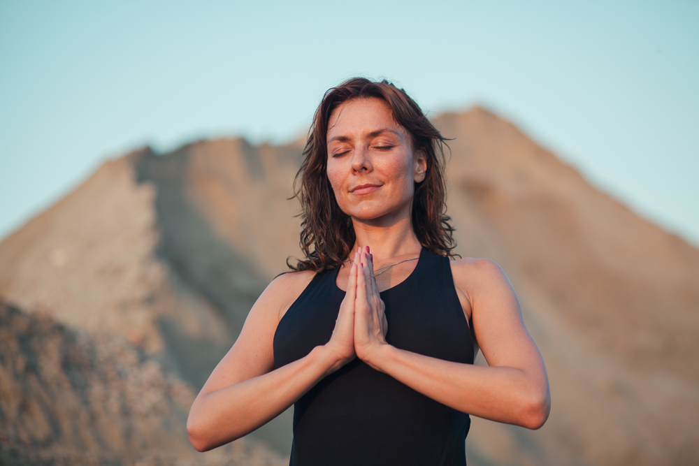 Pranamasana — Prayer Pose