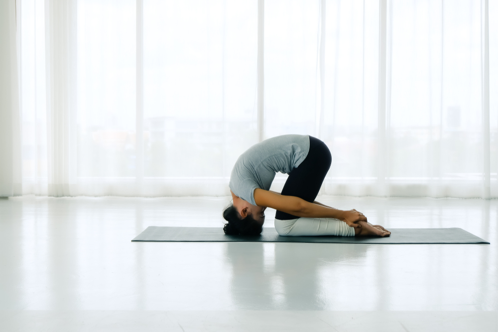 Sasankasana - Rabbit Pose