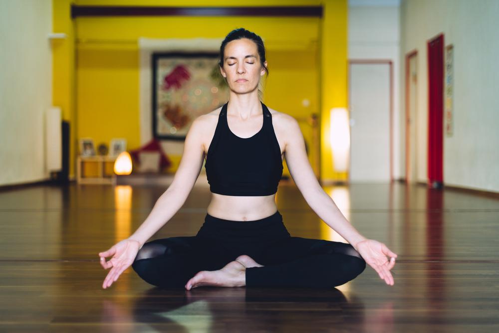 Sukhasana — Easy Seated Pose