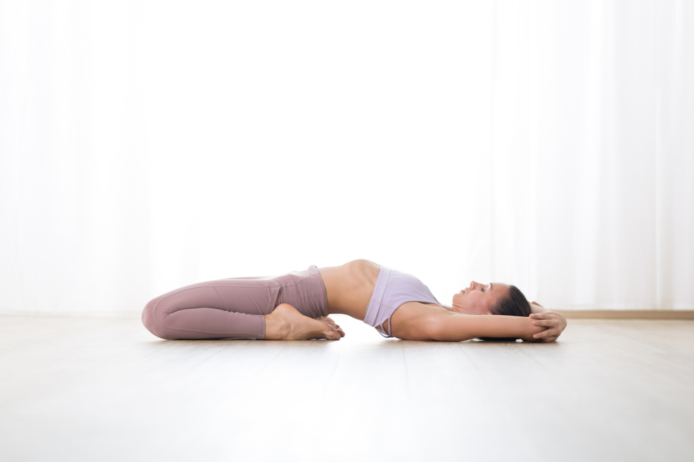 Supta Vajrasana - Fixed Firm Pose