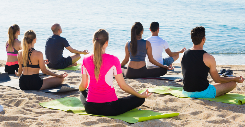 You become a better meditator by teaching meditation